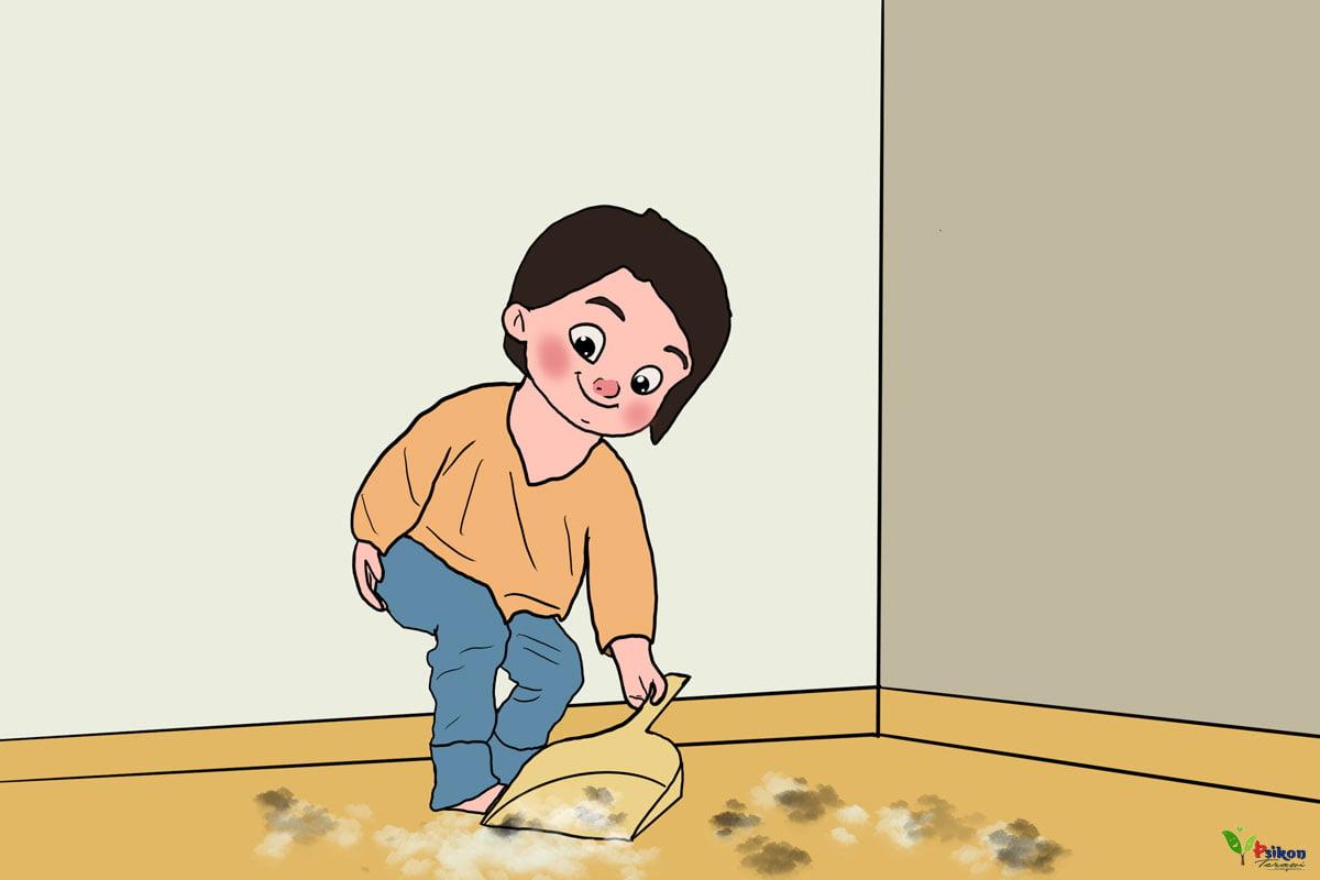 Çocuğunuza Ev İşlerini Öğretmenin ve Yaptırmanın Yolları